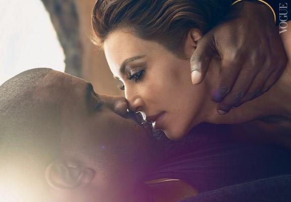Kim Kanye Vogue April-2014 medium