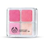 Shimmer cubes hot pink