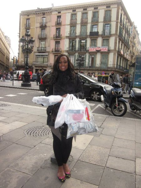 Flashback Barcelona H&M shopping