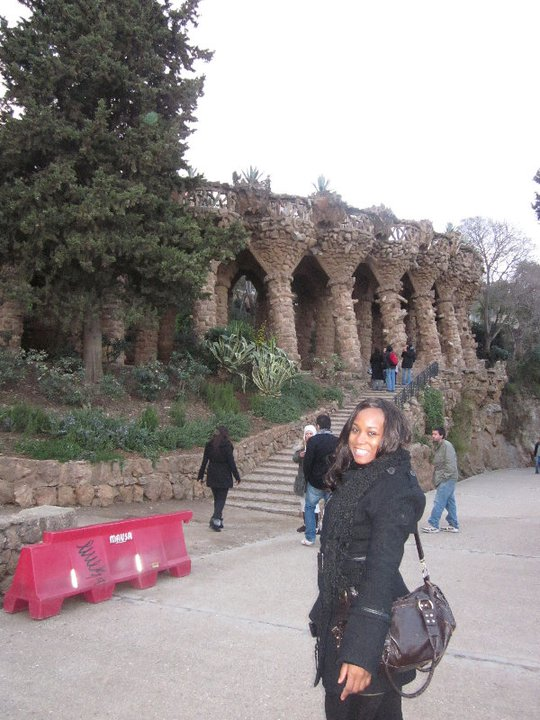 Flashback Barcelona Park Guell 1