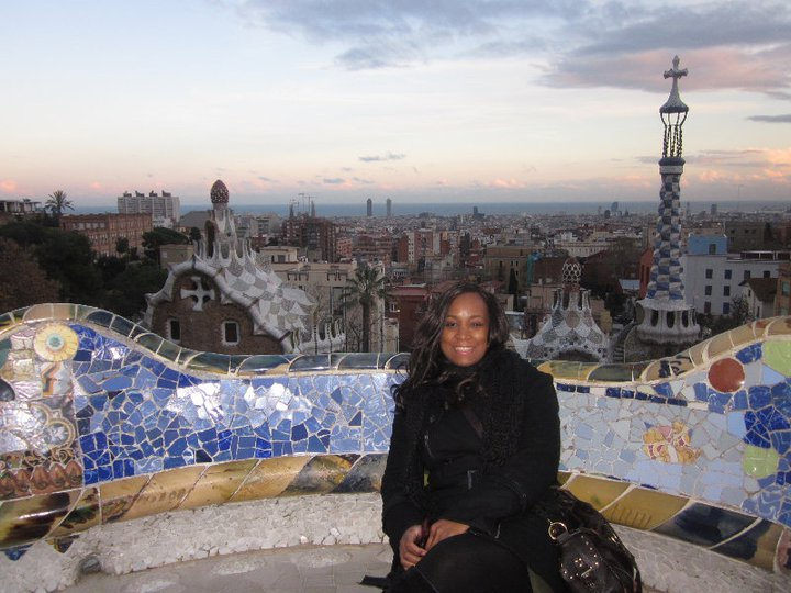 Flashback Barcelona Park Guell 2