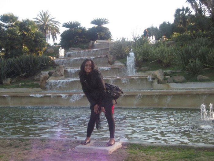 Flashback Barcelona waterfall