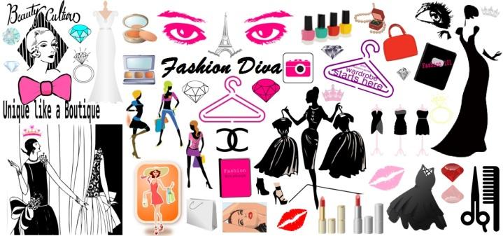 FashionDiva Moodboard