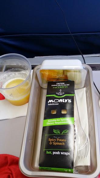 Airplane food1