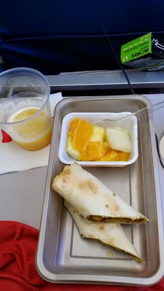 Airplane food2