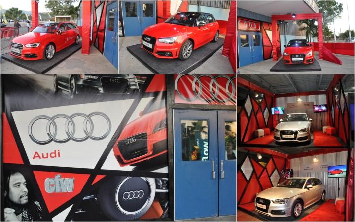 Audi collage