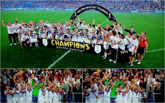 World Champion Germany collage
