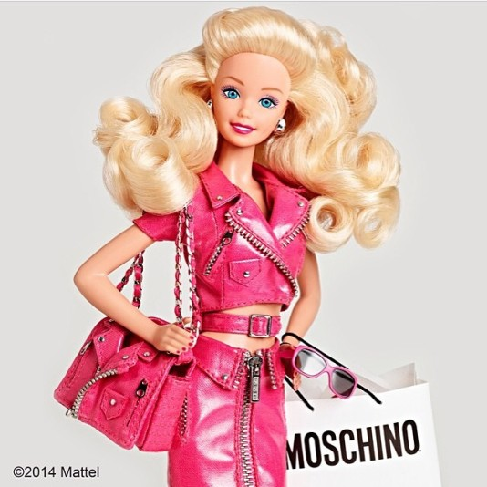 Barbie inspires Moschino
