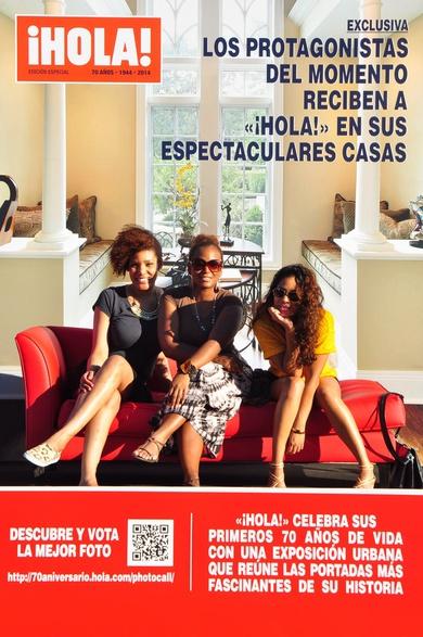 Hola magazine Deb In Sher