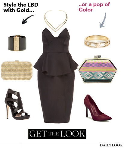 DailyLook_Keepsake_Stolen_Hearts_Satin_Peplum_Dress