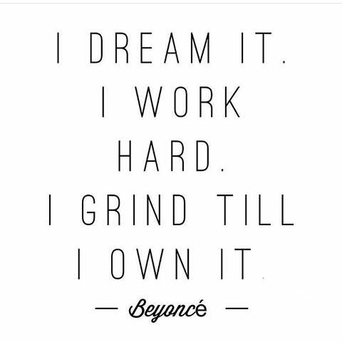 I dream it