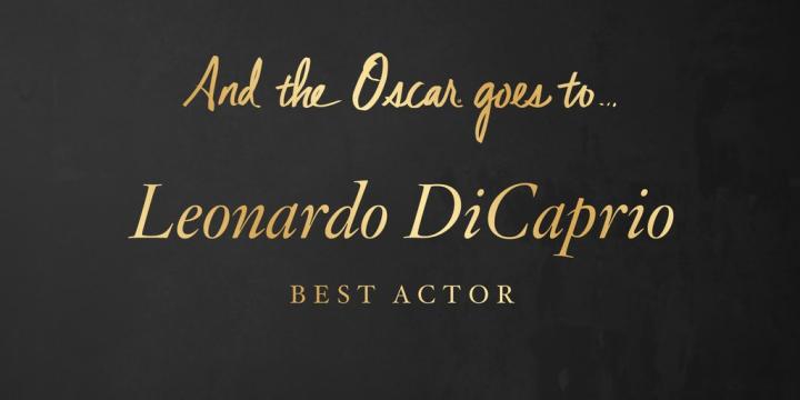 LEO Oscar 2016