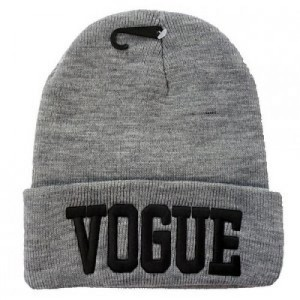 Vogue beanie grey